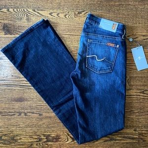 NWT 7 for all Mankind jeans size 25